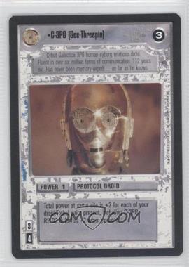 1995 Star Wars Customizable Card Game: Premiere - Expansion Set [Base] #C3PO - C-3PO [See-Threepio]