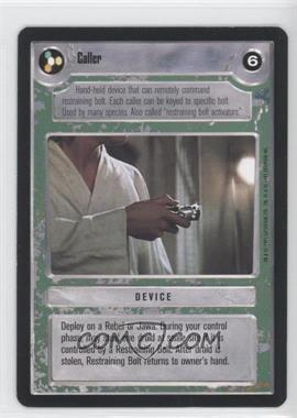 1995 Star Wars Customizable Card Game: Premiere - Expansion Set [Base] #CALL - Caller (Light)