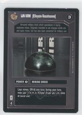 1995 Star Wars Customizable Card Game: Premiere - Expansion Set [Base] #ELVM - LIN-V8M [Elleyein-Veeateemm]