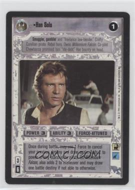 1995 Star Wars Customizable Card Game: Premiere - Expansion Set [Base] #HASO - Han Solo