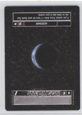 1995 Star Wars Customizable Card Game: Premiere - Expansion Set [Base] #NoN - Alderaan (Dark)