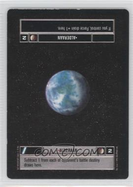 1995 Star Wars Customizable Card Game: Premiere - Expansion Set [Base] #NoN - Alderaan (Light)