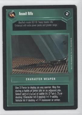 1995 Star Wars Customizable Card Game: Premiere - Expansion Set [Base] #NoN - Assault Rifle