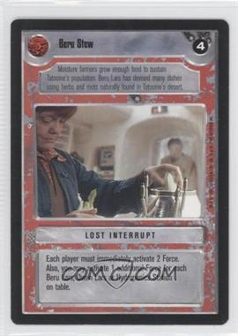 1995 Star Wars Customizable Card Game: Premiere - Expansion Set [Base] #NoN - Beru Stew
