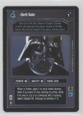1995 Star Wars Customizable Card Game: Premiere - Expansion Set [Base] #NoN - Darth Vader