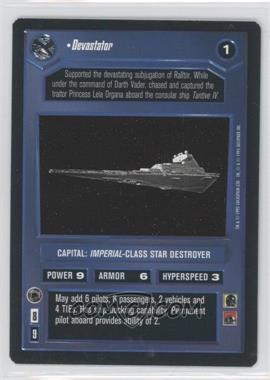 1995 Star Wars Customizable Card Game: Premiere - Expansion Set [Base] #NoN - Devastator