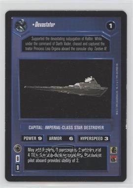 1995 Star Wars Customizable Card Game: Premiere - Expansion Set [Base] #NoN - Devastator