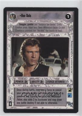 1995 Star Wars Customizable Card Game: Premiere - Expansion Set [Base] #NoN - Han Solo