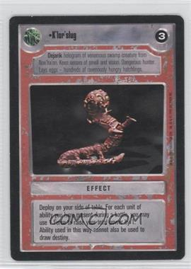 1995 Star Wars Customizable Card Game: Premiere - Expansion Set [Base] #NoN - K'lor'slug