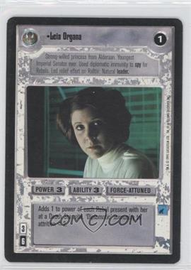 1995 Star Wars Customizable Card Game: Premiere - Expansion Set [Base] #NoN - Leia Organa