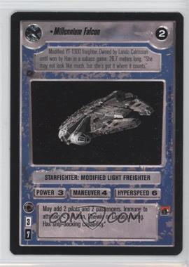 1995 Star Wars Customizable Card Game: Premiere - Expansion Set [Base] #NoN - Millennium Falcon