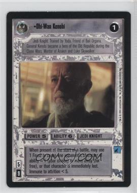 1995 Star Wars Customizable Card Game: Premiere - Expansion Set [Base] #NoN - Obi-Wan Kenobi