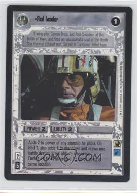 1995 Star Wars Customizable Card Game: Premiere - Expansion Set [Base] #NoN - Red Leader