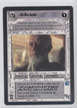 1995 Star Wars Customizable Card Game: Premiere - Expansion Set [Base] #OWKE - Obi-Wan Kenobi