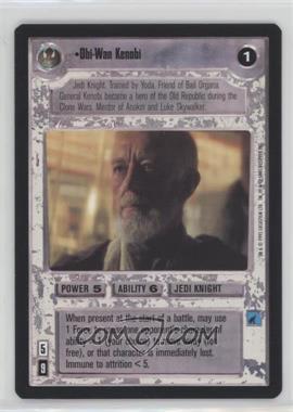 1995 Star Wars Customizable Card Game: Premiere - Expansion Set [Base] #OWKE - Obi-Wan Kenobi