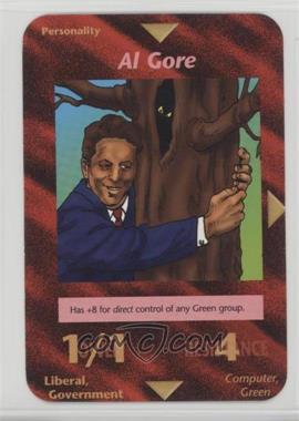 1996 Illuminati: New World Order - [Base] - 1st Edition #NoN - Al Gore