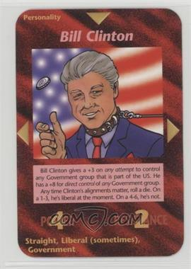 1996 Illuminati: New World Order - [Base] - 1st Edition #NoN - Bill Clinton