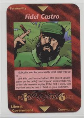 1996 Illuminati: New World Order - [Base] - 1st Edition #NoN - Fidel Castro