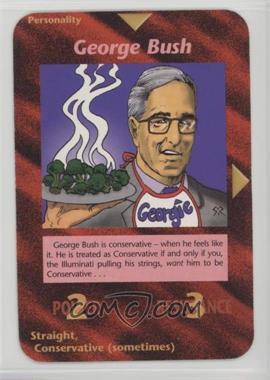 1996 Illuminati: New World Order - [Base] - 1st Edition #NoN - George Bush