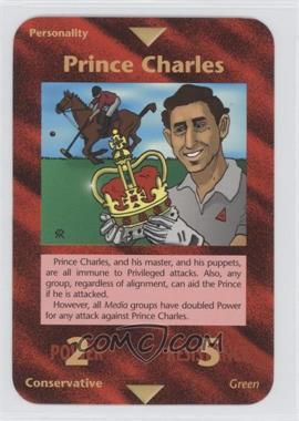 1996 Illuminati: New World Order - [Base] - 1st Edition #NoN - Prince Charles