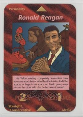 1996 Illuminati: New World Order - [Base] - 1st Edition #NoN - Ronald Reagan