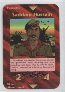 1996 Illuminati: New World Order - [Base] - 1st Edition #NoN - Saddam Hussein