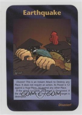 1996 Illuminati: New World Order - [Base] - Limited #NoN - Earthquake