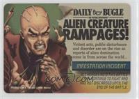 Professor X - Alien Creature Rampages