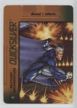 1996 Marvel Overpower Collectible Card Game: Mission Control Expansion - Special Character Cards #AG - Quicksilver [Noted]