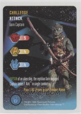 1996 Star Trek - The Card Game - [Base] #NoN - Challenge - Gorn Captain