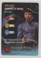 Challenge - Mirror Spock