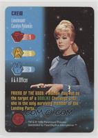 Crew - Lieutenant Carolyn Palamas
