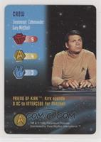 Crew - Lieutenant Commander Gary Mitchell