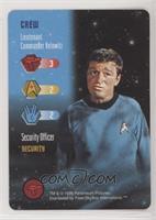 Crew - Lieutenant Commander Kelowitz