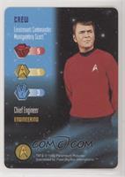 Crew - Lieutenant Commander Montgomery Scott