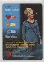 Crew - Lieutenant Karen Tracy