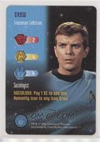 Crew - Lieutenant Lindstrom