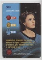 Crew - Lieutenant Mira Romaine
