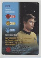 Crew - Lieutenant Robert Tomlinson