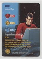 Crew - Lieutenant Rowe