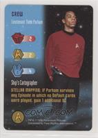 Crew - Lieutenant Thom Parham