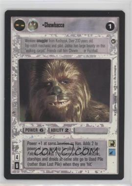 1996 Star Wars Customizable Card Game: A New Hope - Expansion Set [Base] #NoN - Chewbacca