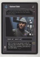 Lieutenant Cabbel