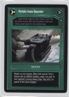 Portable Fusion Generator