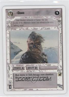 1996 Star Wars Customizable Card Game: The Empire Strikes Back - - 2-Player Starter Game #NoN - Chewie
