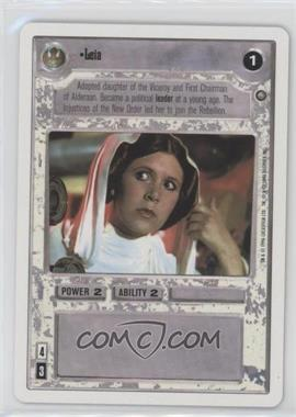 1996 Star Wars Customizable Card Game: The Empire Strikes Back - - 2-Player Starter Game #NoN - Leia
