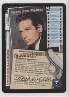 Agent Fox Mulder (Staring Offscreen)