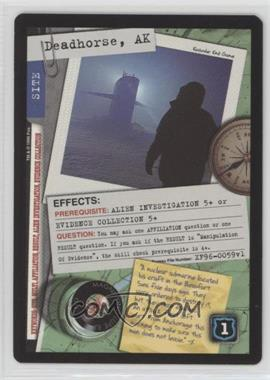1996 The X-Files Collectible Card Game - Premiere Expansion Set #XF96-0059 - Deadhorse, AK