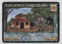 Cray's Retreat, Rural Virginia
