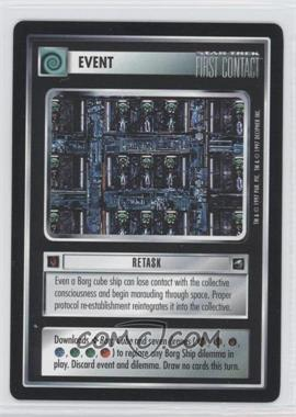 1997 Star Trek Customizable Card Game: First Contact - Expansion Set [Base] #NoN - Retask